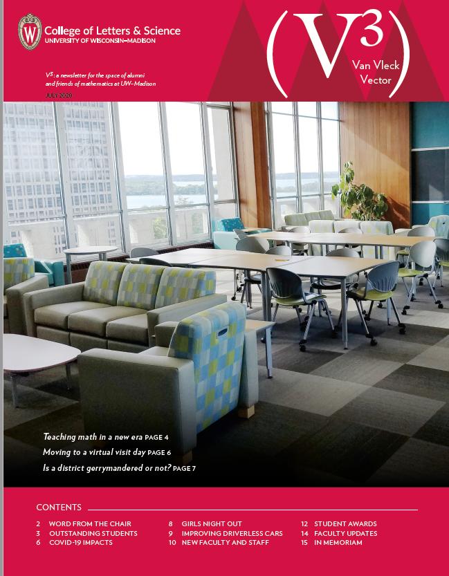 2020 Newsletter Cover